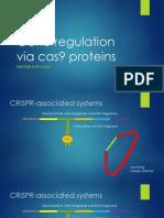 gene regulation via cas9 proteins