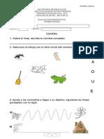 Bateria Diagnóstica 1° 2014-2015
