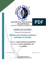 Metodos Para Linealizar (Zuleyma G. Arroyo Hernandez)