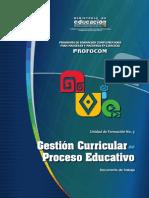 Gestion Curricular en El Proceso Educativo Ccesa015