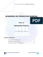 Aula12 GRAVACAO DIGITAL AcademiaDoProdutorMusical TextoComplementar DennisZasnicoff