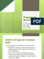 LESSON 4 - Propaganda Movement