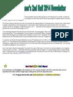 ccrunnersnewsletter-2ndhalf2014 docx