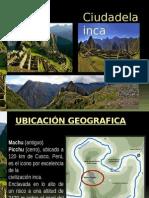 Machu Picchu Final