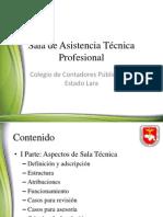 Presentación Sala Técnica Profesional (SATP)