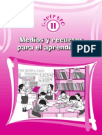 Recursos y Sectores de Aprendizaje en La Escuela Ccesa015