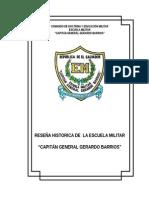 Reseña Histórica de La Escuela Militar
