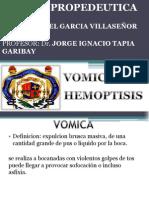 vomica, hemoptisis, disfonia,
