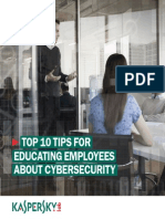 Top 10 Tips for Educating Employees About Cybersecurity