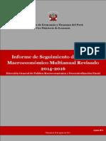 Informe Seguimiento MMM2014 2016 ISEM