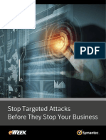 Stop Targeted Attacks Before They Stop Your Business
