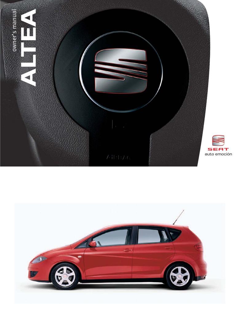 seat altea owners manual english 2006 version seat belt airbag rh scribd com manual del seat altea xl manual de seat altea 2005