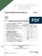 Soalan Ramalan Sains Spm 2014