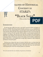 Analysis of Historical Content in Black Sails