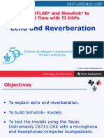 Echo and Reverberation
