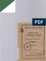 Hugo Riemann Armonia y Modulacion