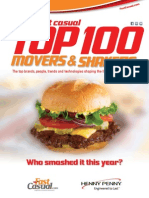 2014 Fast Casual Top 100 Movers and Shakers