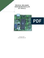 Modul Pelatihan Mikrokontroler AT89S51ok
