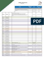 Sports Village Schedule