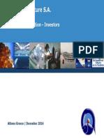 ΝΗΡΕΑΣ Company Presentation