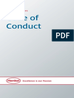 Code of Conduct and Annex