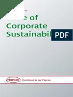 Code of Corporate Sustainability
