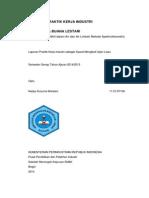 laporan analisis kadar nitrit dalam air dan air limbah.pdf