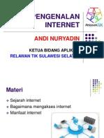 Pengenalan Internet-RTIK Sinjai