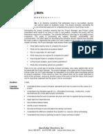 Planning Skills Overview