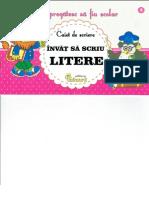 Caiet de Scriere-Invat Sa Scriu Litere