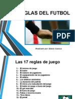 Reglas Futbol