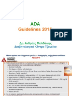 Guidelines ADA 2015
