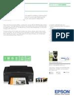 Epson Stylus SX110 Brochures 2