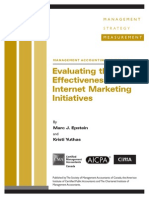 Tech MAG Evaluating Internet Marketing April06