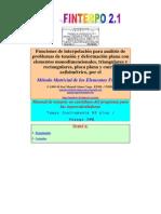 Manual Finterpo 2.1