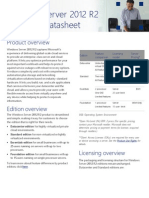 Windows Server 2012 R2 Licensing Datasheet