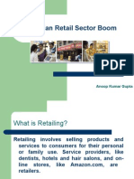 The Indian Retail Sector Boom