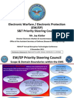 2011 11 7 Electronic Warfare PSC Roadmap