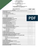 Checklist New