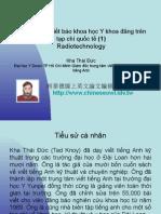 Vietnam 2.48:Tổ chức lớp viết báo khoa học Y khoa đăng trên tạp chí quốc tế (1)