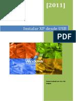 Instalar XP Desde USB