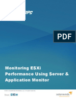 1310 Monitoring ESXi Performance Using SAM
