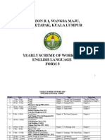 Form 5 Scheme of Work 2015