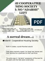 Adarsh Cooperative Housing Society Scam