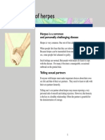 Herpes Brochure Body High Res | Herpes Simplex | Sexual Health