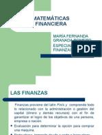 MATEMATICAS FINANCIERA PRESENTACION