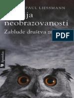 Teorija Neobrazovanosti - Konrad Paul Liessmann