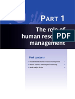 role of hrm