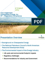 P Hagemeier-Chk - Env Impact of the Energy Industry