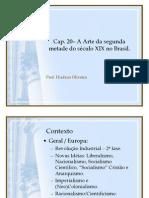 Aula - Cap. 20 Arte Segunda Metade Seculo Xix Brasil - Prof. Hudson